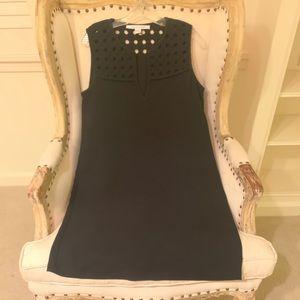 New Diane Von Furstenberg black shift dress